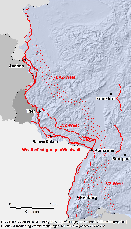 Eine Neue Karte Für Den Westwall Www Vewa Ev De